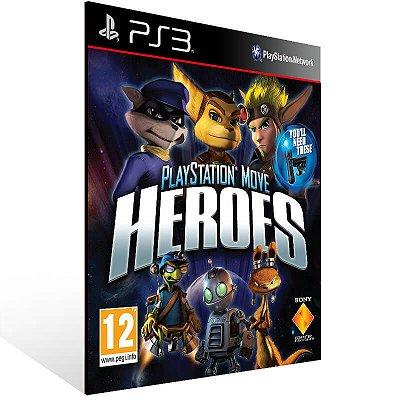 Playstation Move Heroes - Ps3 Psn Mídia Digital