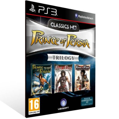 Prince of Persia Classic Trilogy HD - Ps3 Psn Mídia Digital