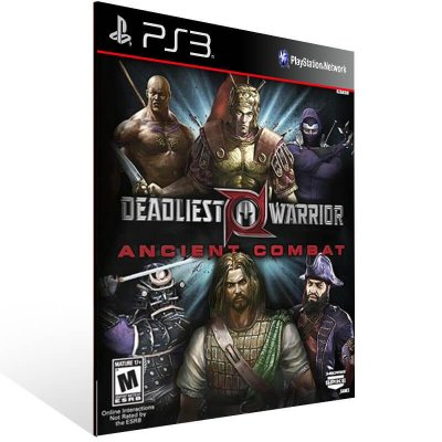 Deadliest Warrior Legends - Ps3 Psn Mídia Digital