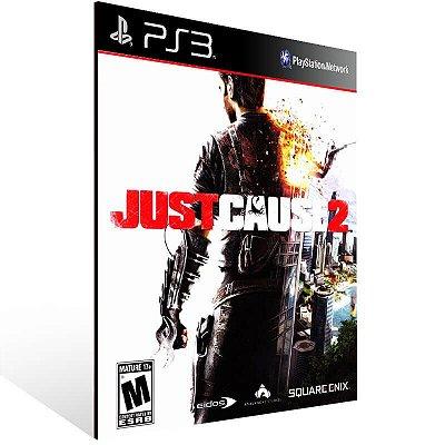 Just Cause 2 - Ps3 Psn Mídia Digital
