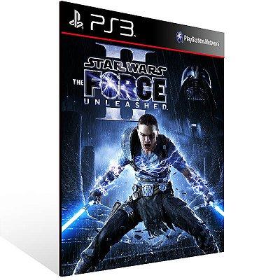 Star Wars The Force Unleashed 2 - Ps3 Psn Mídia Digital