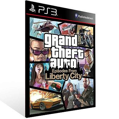 Grand Theft Auto Episodes From Liberty City - Ps3 Psn Mídia Digital