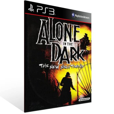 Alone In The Dark The New Nightmare - Ps3 Psn Mídia Digital