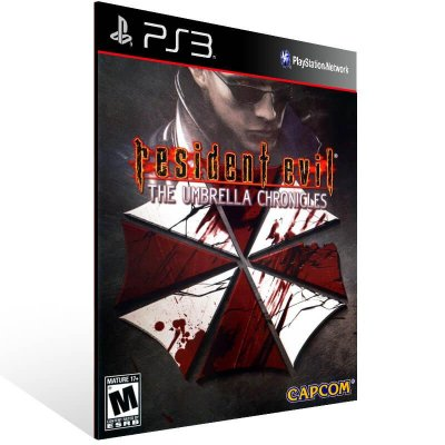Resident Evil The Umbrella Chronicles - Ps3 Psn Mídia Digital