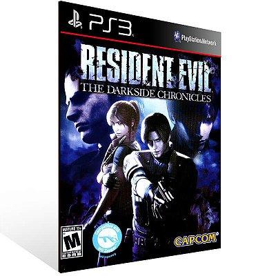 Resident Evil The Darkside Chronicles - Ps3 Psn Mídia Digital