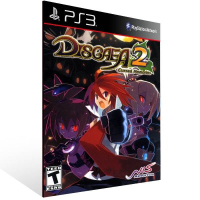Disgaea 2 Cursed Memories - Ps3 Psn Mídia Digital