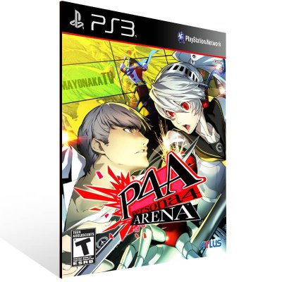 Persona 4 Arena - Ps3 Psn Mídia Digital