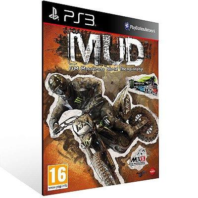 Mud Fim Motocross World Championship - Ps3 Psn Mídia Digital