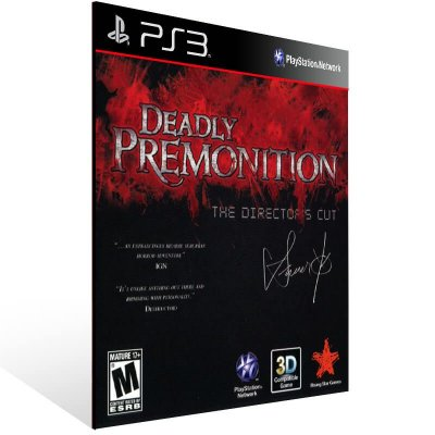 Deadly Premonition The Director Cut - Ps3 Psn Mídia Digital