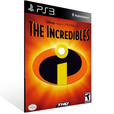 The Incredibles (Ps2 Classic) - Ps3 Psn Mídia Digital