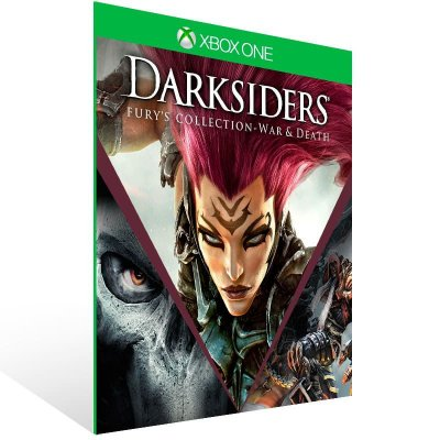 Darksiders Furys Collection War And Death - Xbox One Live Mídia Digital