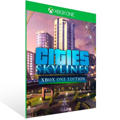 Cities Skylines Xbox One Edition - Xbox One Live Mídia Digital