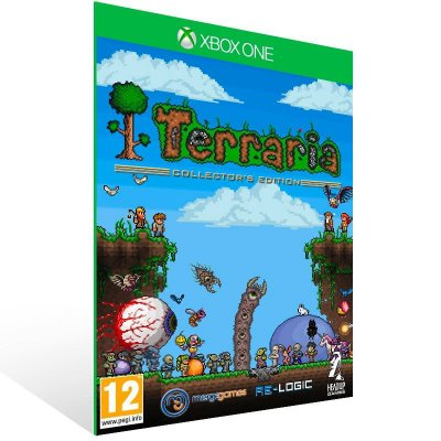Terraria - Xbox One Live Mídia Digital