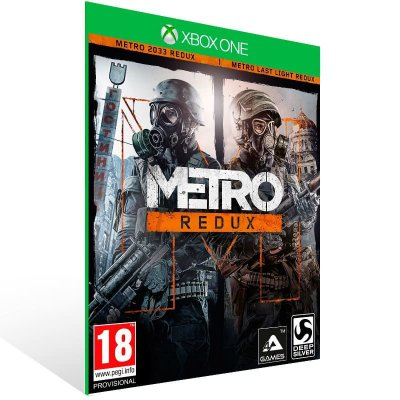 Metro Redux Bundle - Xbox One Live Mídia Digital