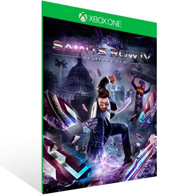 Saints Row IV: Re Elected - Xbox One Live Mídia Digital