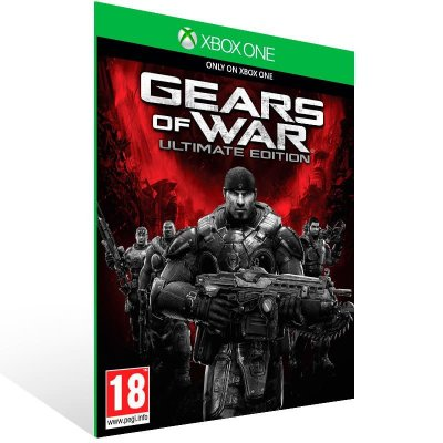 Gears Of War Ultimate Edition Versao Day One - Xbox One Live Mídia Digital