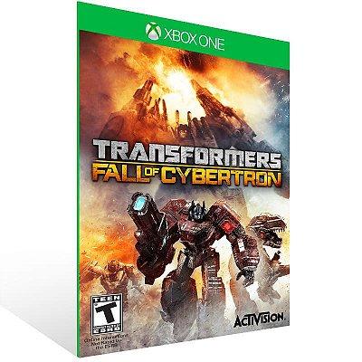 Transformers Fall Of Cybertron - Xbox One Live Mídia Digital