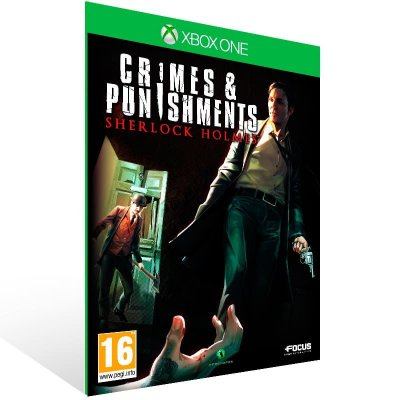 Sherlock Holmes Crimes And Punishments - Xbox One Live Mídia Digital