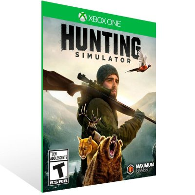 Hunting Simulator - Xbox One Live Mídia Digital