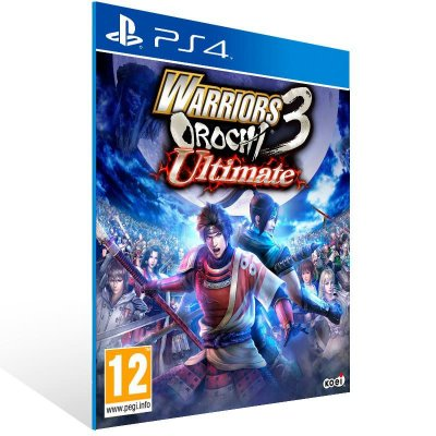 Warriors Orochi 3 Ultimate - Ps4 Psn Mídia Digital
