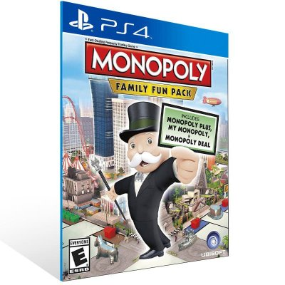 Monopoly Family Fun Pack - Ps4 Psn Mídia Digital