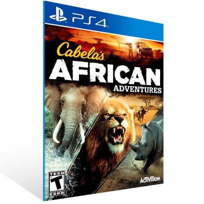 Cabela African Adventures - Ps4 Psn Mídia Digital