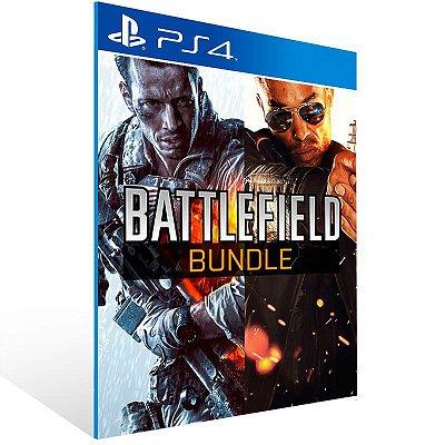 Battlefield 4 + Hardline Bundle - Ps4 Psn Mídia Digital