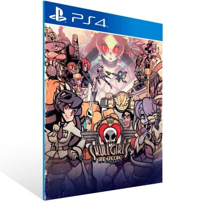 Skullgirls 2Nd Encore - Ps4 Psn Mídia Digital