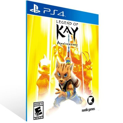 Legend Of Kay Anniversary - Ps4 Psn Mídia Digital