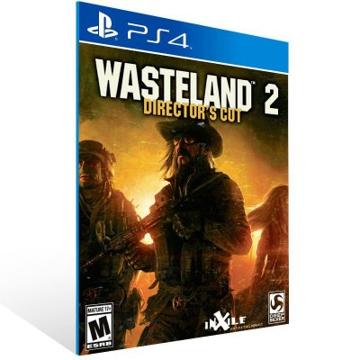 Wasteland 2 Director Cut - Ps4 Psn Mídia Digital