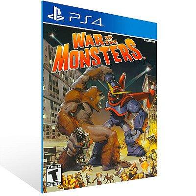 War Of The Monsters - Ps4 Psn Mídia Digital