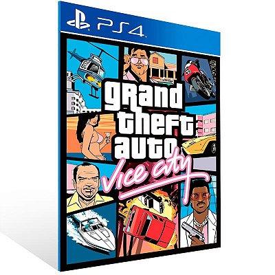 Grand Theft Auto Vice City - Ps4 Psn Mídia Digital