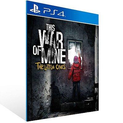 This War Of Mine The Little Ones - Ps4 Psn Mídia Digital