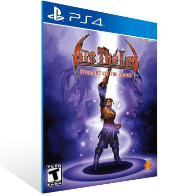 Arc The Lad Twilight Of The Spirits - Ps4 Psn Mídia Digital