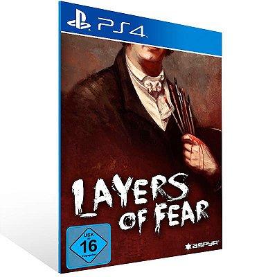 Layers Of Fear - Ps4 Psn Mídia Digital