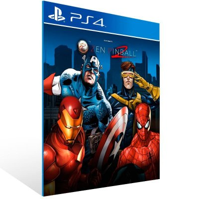 Marvel Pinball Season 2 Bundle - Ps4 Psn Mídia Digital