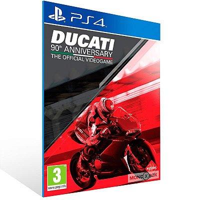 Ducati 90Th Anniversary - Ps4 Psn Mídia Digital