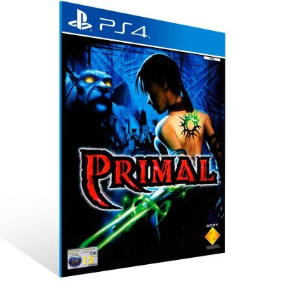 Primal - Ps4 Psn Mídia Digital