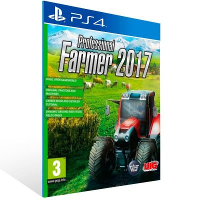 Professional Farmer 2017 - Ps4 Psn Mídia Digital