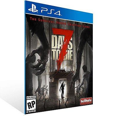 7 Days To Die - Ps4 Psn Mídia Digital
