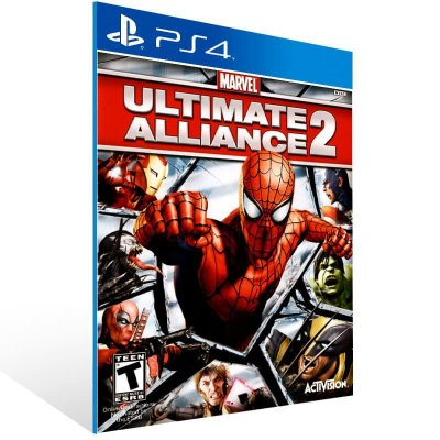 Marvel Ultimate Alliance 2 - Ps4 Psn Mídia Digital