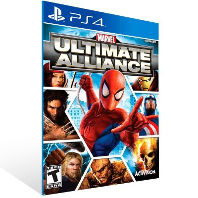 Marvel Ultimate Alliance - Ps4 Psn Mídia Digital