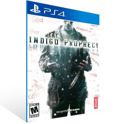 Indigo Prophecy - Ps4 Psn Mídia Digital
