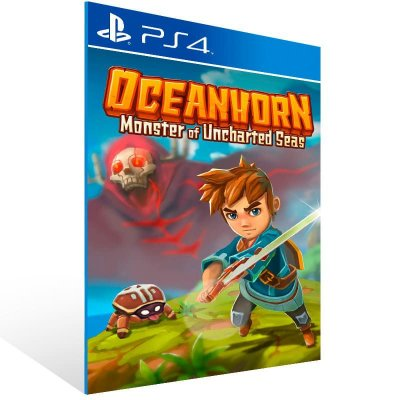 Oceanhorn Monster Of Uncharted Seas - Ps4 Psn Mídia Digital