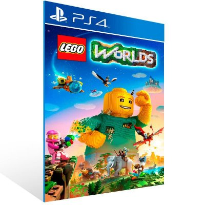 Lego Worlds - Ps4 Psn Mídia Digital