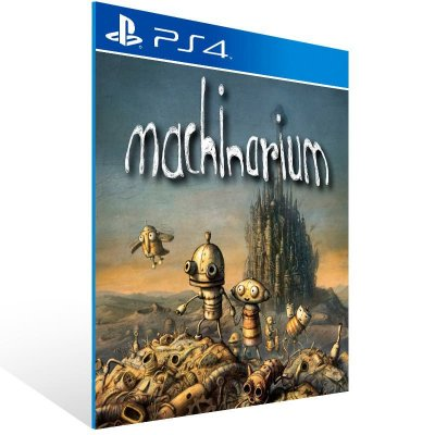 Machinarium - Ps4 Psn Mídia Digital