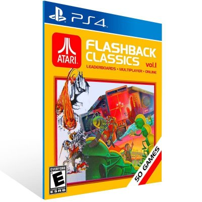 Atari Flashback Classics Vol 1 - Ps4 Psn Mídia Digital