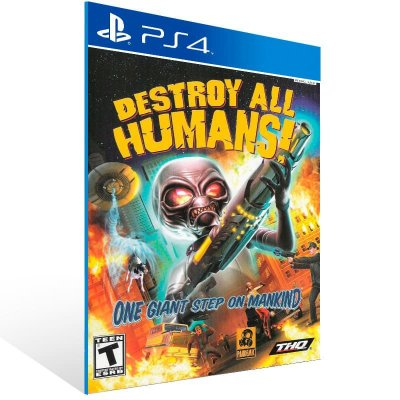 Destroy All Humans - Ps4 Psn Mídia Digital