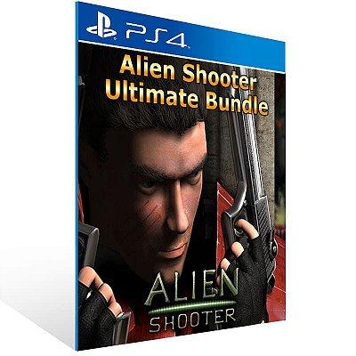 Alien Shooter Collection - Ps4 Psn Mídia Digital
