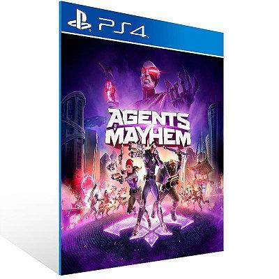 Agents Of Mayhem - Ps4 Psn Mídia Digital